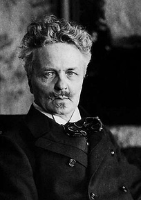 August Strindberg, one of the most influential writers in modern Swedish literature.