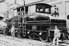 Baltimore & Ohio electric engine