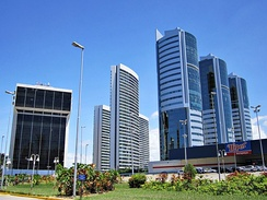 Recife is the largest metropolitan area of the Northeast Region, and the third largest city of the region.