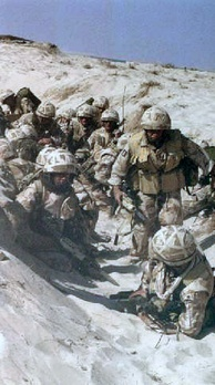British troops in the Gulf