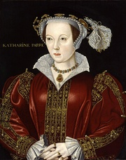 Miniature Portrait of Catherine Howard, Henry's fifth wife, by Hans Holbein the Younger, 1540 (left) and Catherine Parr, Henry's sixth and last wife (right)