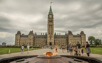 House of Commons of Canada sits in the West Block in Ottawa until 2029