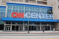 The CNN Center in Atlanta.