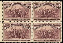 Landing of Christopher Columbus Issue of 1893