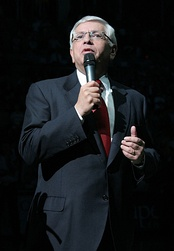 David Stern, former commissioner of the NBA received his B.A. 1963