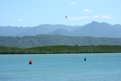 Dickson's Inlet, Port Douglas, Queensland during the dry season