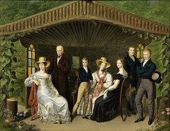 The imperial family (by Leopold Fertbauer, 1826)