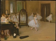 Edgar Degas, The Dancing Class, 1872