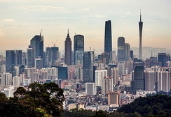 Guangzhou is the third largest city in the People's Republic of China