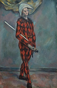 Harlequin, 1888–90, oil on canvas, National Gallery of Art