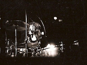 Bonham at Madison Square Garden with Led Zeppelin in 1973