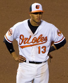Machado with Orioles in 2012