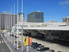 The Moscone Center was the site of the 1984 Democratic National Convention