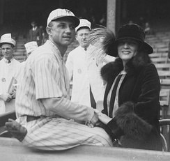 Groh with his wife c. 1922