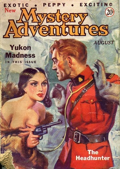 "Hubbard's ""Yukon Madness"" was originally published in the August 1935 issue of New Mystery Adventures"