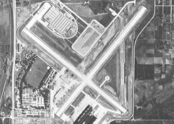 Offutt in the mid-1940s as a war production plant for the Glenn L. Martin company.