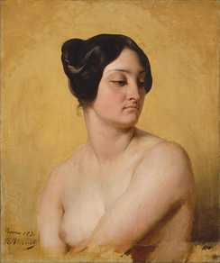 "Similarities exist between Olympe Pélissier and the novel's ""Woman without a Heart"", but critics and biographers agree that the character is a composite of women from Balzac's life."