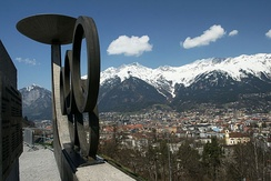 View of Innsbruck from Mt. Bergisel