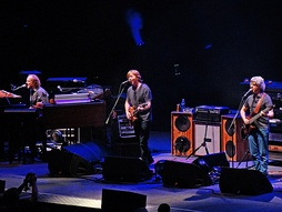Phish performing at American Airlines Arena in Miami, 2009.