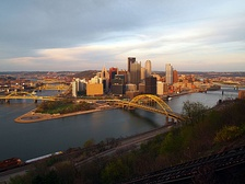 Pittsburgh, the second most populous city in Pennsylvania, and the fourth most populous city in the Northeast