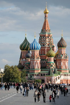 Saint Basil's Cathedral.