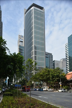 Singapore Exchange, SGX Centre, Singapore.  Singapore is a top 5 Conduit OFC, and is the 3rd largest global tax haven.[2]