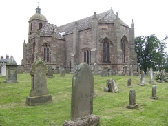 James IV ordered the Kirk of Steill to be built in 1500, for the Christian Jubilee, and to commemorate his rescue from the nearby river Tweed