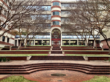 Entrance to the University of Florida College of Medicine in Gainesville, Florida