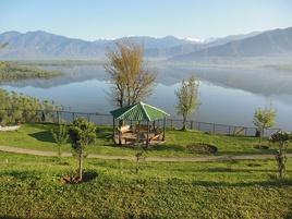 Scenic View of Wular Lake