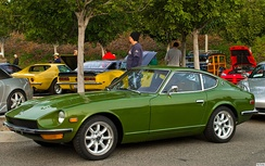 1971 Datsun 240Z (U.S. model) in green metallic