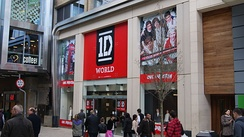 A One Direction merchandising shop in Leeds in March 2013.