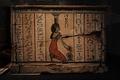 Фрагмент саркофага Анкх-Веннефера. Государственный исторический музей Вашингтона.
