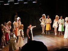 Hank Azaria in a production of Spamalot.