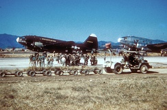 437th Troop Carrier Wing C-46Ds during the Korean War.