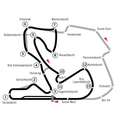 Map of the circuit