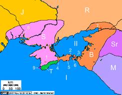 Крым во II веке дон.э. Скифы в Крыму Боспорское царство Языги Роксоланы Сираки Меоты Тавры
