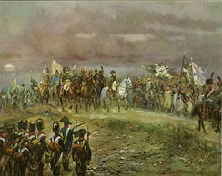 Napoleon after the Battle of Jena.