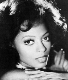 Diana Ross in August 1976