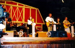June Carter Cash at the Opry in 1999