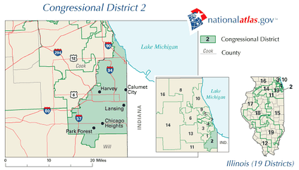 Illinois's 2nd congressional district in 2010