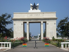 Independence Arch in Accra