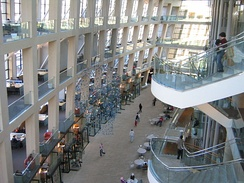Salt Lake City Public Library. The American Library Association called it the best in the U.S. in 2006.
