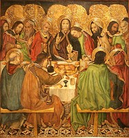 Last Supper by Jaume Huguet