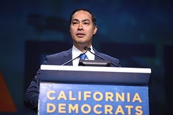 Castro speaking to the California Democratic Party State Convention in June 2019.