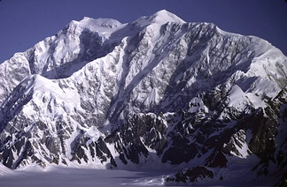 Mount Logan in the Saint Elias Mountains of Yukon is the highest summit of Canada.