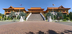 Nan Tien Temple, a Buddhist temple in Wollongong. Multicultural immigration has increased Australia's religious diversity.