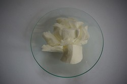 Cosmetic pads made of nitrocellulose