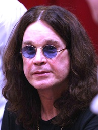 "English singer Ozzy Osbourne has been identified as the ""Godfather of Heavy Metal"" and the ""Prince of Darkness""."