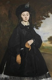 Édouard Manet, Portrait of Madame Brunet, 1867