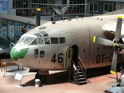 C-119 in the Royal Museum of the Armed Forces and of Military History, Brussels